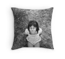 grrrrl Throw Pillow