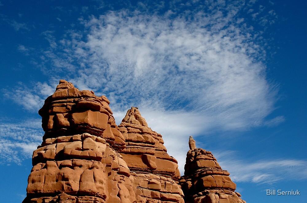 Sandstone and Sky by Bill Serniuk