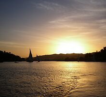 End of the Day on the Nile by Marilyn Harris