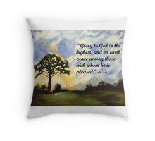 Christimas Glory Throw Pillow