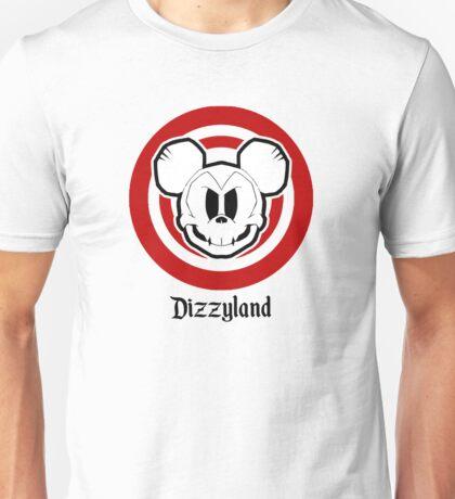 Dizzyland Mouse Skully Unisex T-Shirt