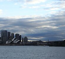 Sydney Skyline by LonePilgrim
