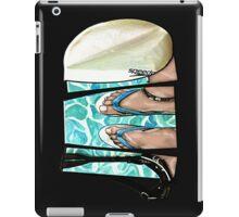 The Swimmer - White iPad Case/Skin
