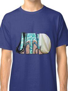 The Swimmer - White Classic T-Shirt