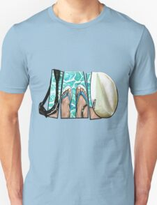 The Swimmer - White T-Shirt