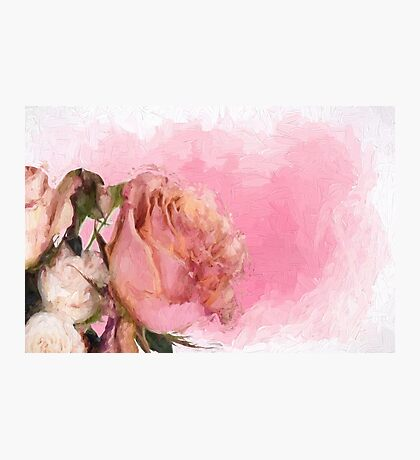 Old Master Roses Photographic Print