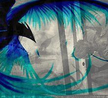 blue Phoenix by MrVogelfutter
