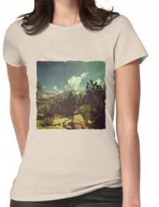 Italian Mountains Womens Fitted T-Shirt