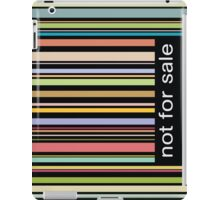 not for sale iPad Case/Skin
