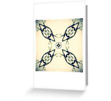 Kaleidoscope Abstract Greeting Card