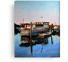 Wynnum Creek Morning Canvas Print