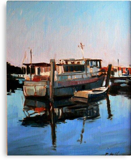 Wynnum Creek Morning by Paul  Milburn