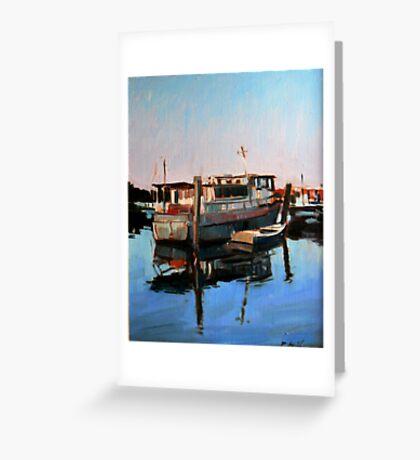 Wynnum Creek Morning Greeting Card