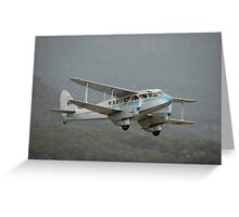 Dragon Rapide @ Albion Park Airshow 2008 Greeting Card