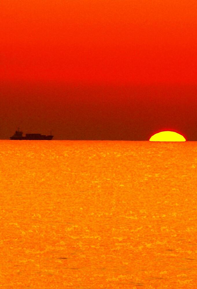 sunset by aidan