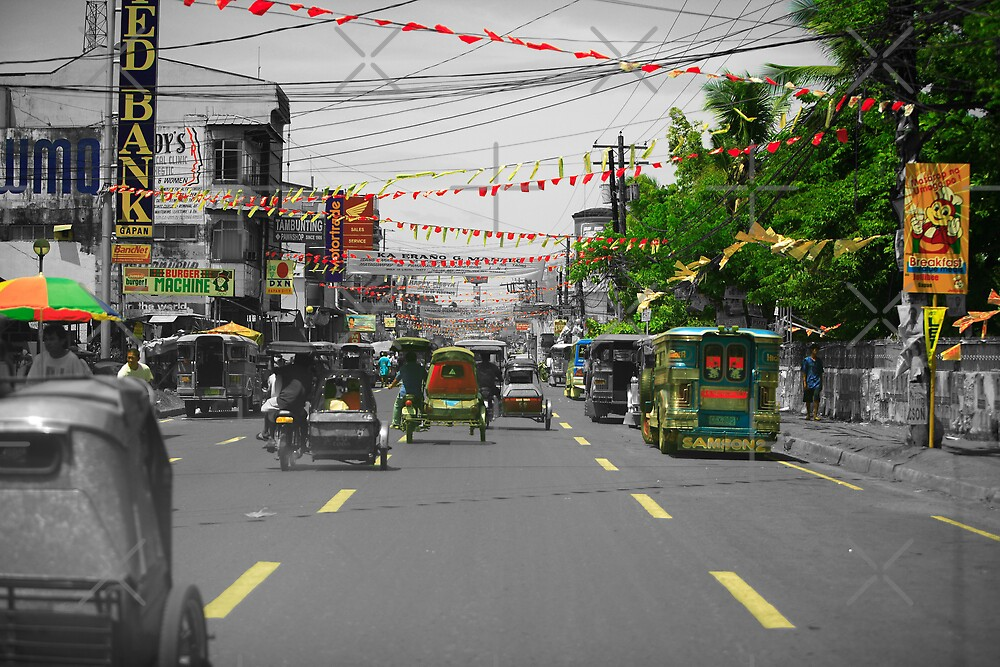 Town of Gapan Philippines by Ben Pacificar