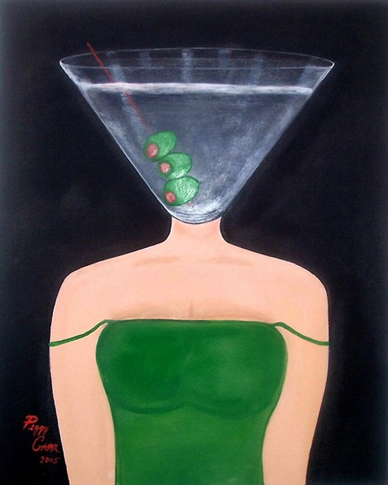 Martini Time by Peggy Garr