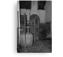 Call that a fitted bathroom? Canvas Print