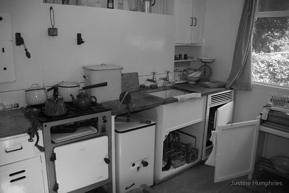 Not my idea of a fitted kitchen by Justine Humphries