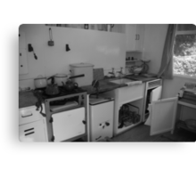 Not my idea of a fitted kitchen Canvas Print