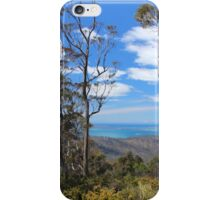 Orford hill view to Maria Island iPhone Case/Skin