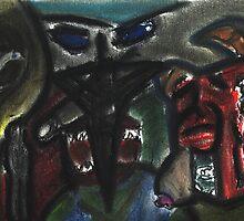 God, Man, The Beast and temptation by Jonathan baez