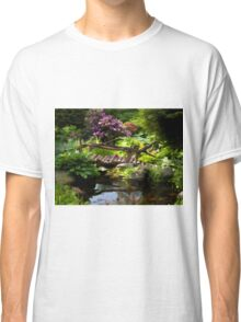 Beautiful perfect garden landscape Classic T-Shirt