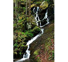 Spring Cascade  Photographic Print