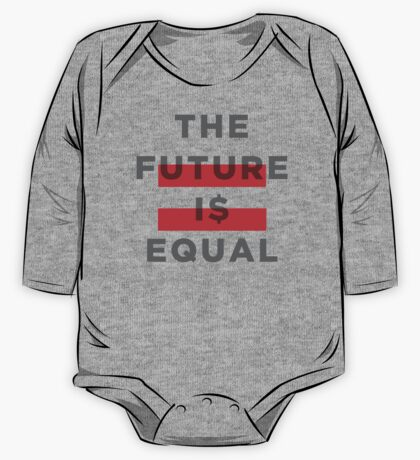 Official THE FUTURE I$ EQUAL Apparel by Hope Solo One Piece - Long Sleeve