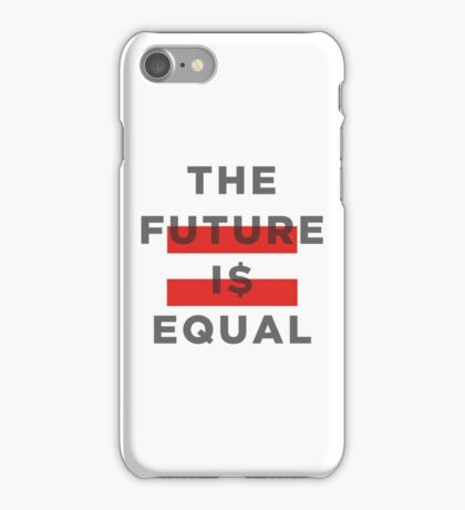 Official THE FUTURE I$ EQUAL Apparel by Hope Solo iPhone Case/Skin