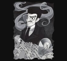 Gomez Addams- Black and White version Kids Clothes