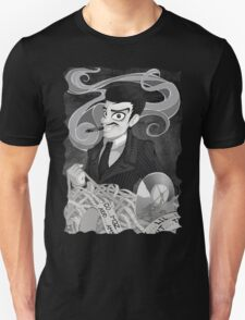 Gomez Addams- Black and White version T-Shirt