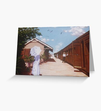 Two Different Journeys Greeting Card