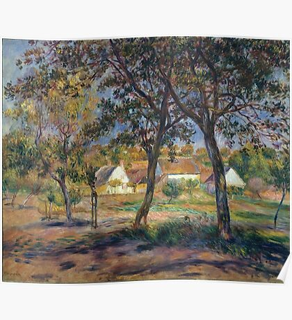 Auguste Renoir - The Outskirts Of Pont-Aven R Poster