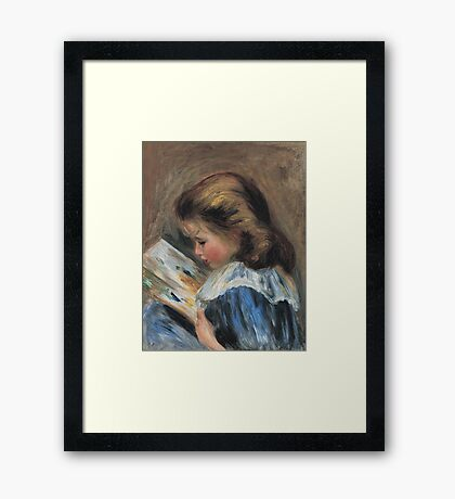 Auguste Renoir - The Picture Book (Ca. 1895) Framed Print