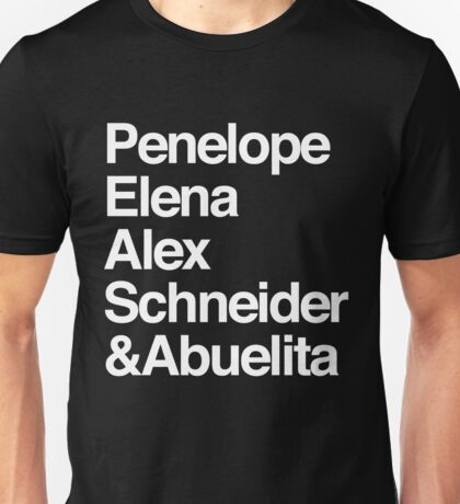 One Day at a Time characters Unisex T-Shirt