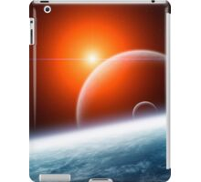 Planet Earth with Double Moon iPad Case/Skin