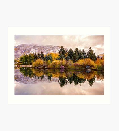 Reflective Morning - Aspen Colorado Art Print