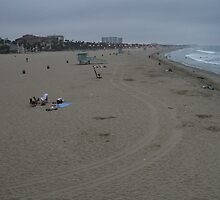 Santa Monica Beach by Francis Alfred