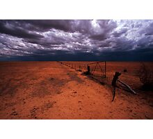 outback gate - NSW Photographic Print
