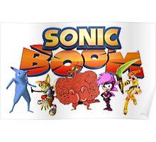Sonic Boom Parody T-Shirt Poster