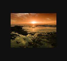 Beautiful seascape in dramatic sunset Unisex T-Shirt