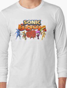 Sonic Boom Parody T-Shirt Long Sleeve T-Shirt