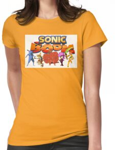 Sonic Boom Parody T-Shirt Womens Fitted T-Shirt