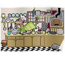 Dragon Chef Poster