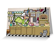 The Desserts Greeting Card