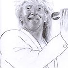 Rod Stewart by terry morris