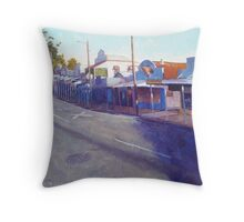 Early Light - Cambridge Parade Manly Throw Pillow