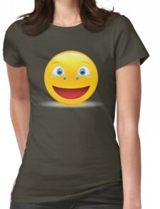 sweet smile Womens Fitted T-Shirt