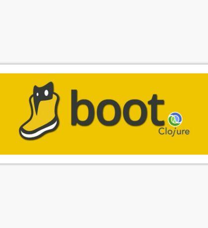 Boot Long logo Sticker